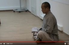Медитация с шаолиньским монахом