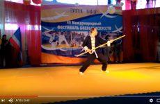Видео с фестиваля боевых искусств — Иньшоугунь