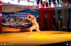 Видео с фестиваля боевых искусств — Лоханьцюань