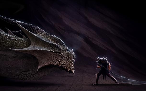 Притча о Драконе и воине