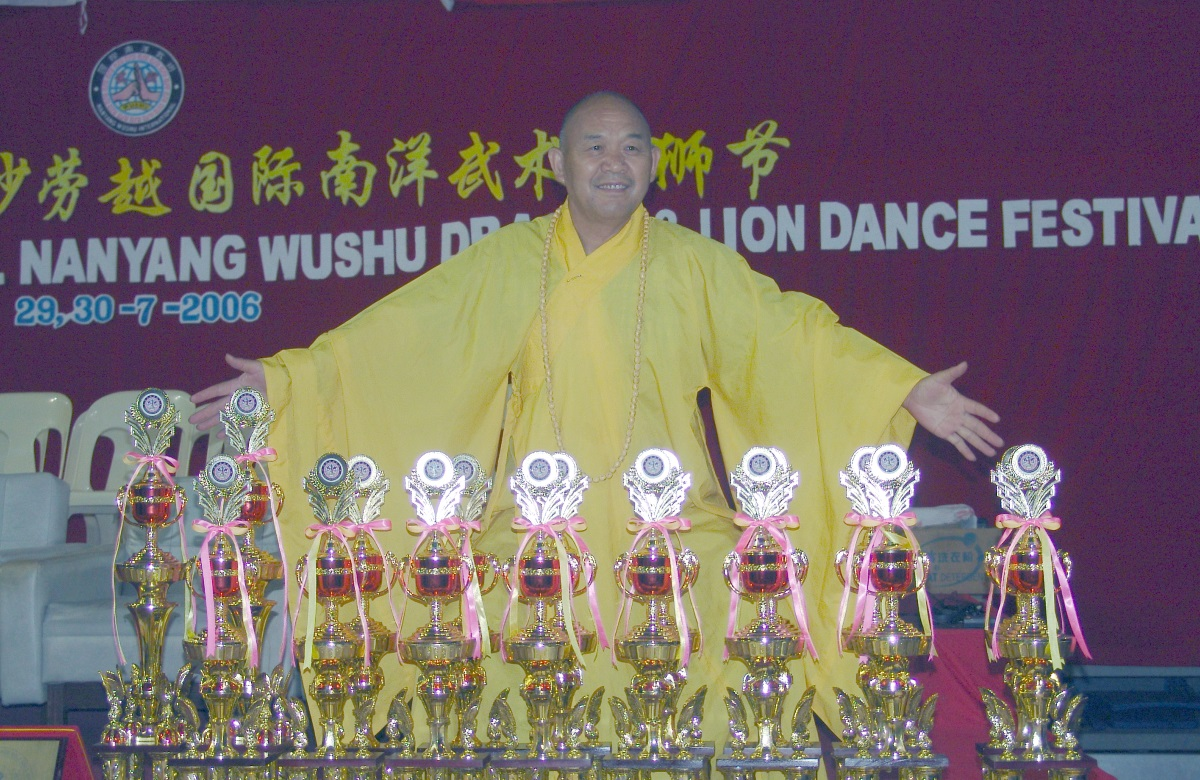 Статья в журнале «Shaolin kungfu and Tai Chi» о Ши Дэцяне