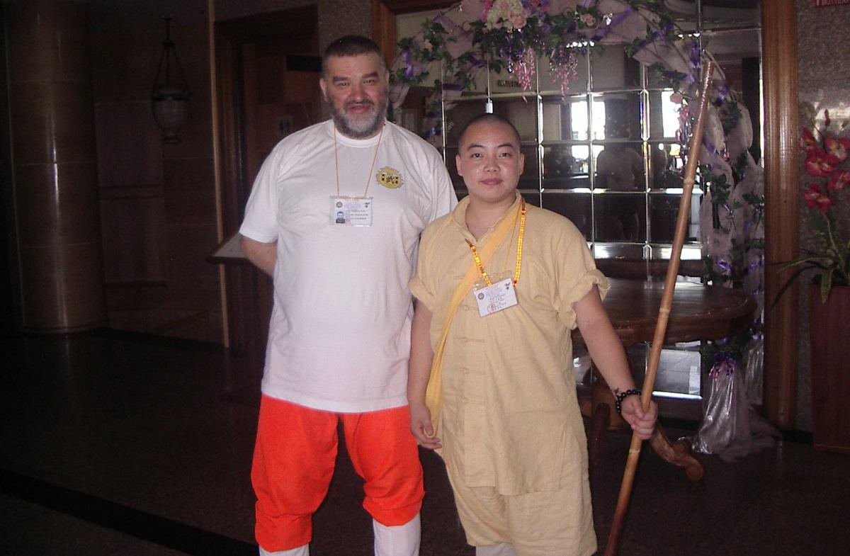 Ши Синсинь и Ду Сяохуй (инструктор академии Ши Дэцяня)
