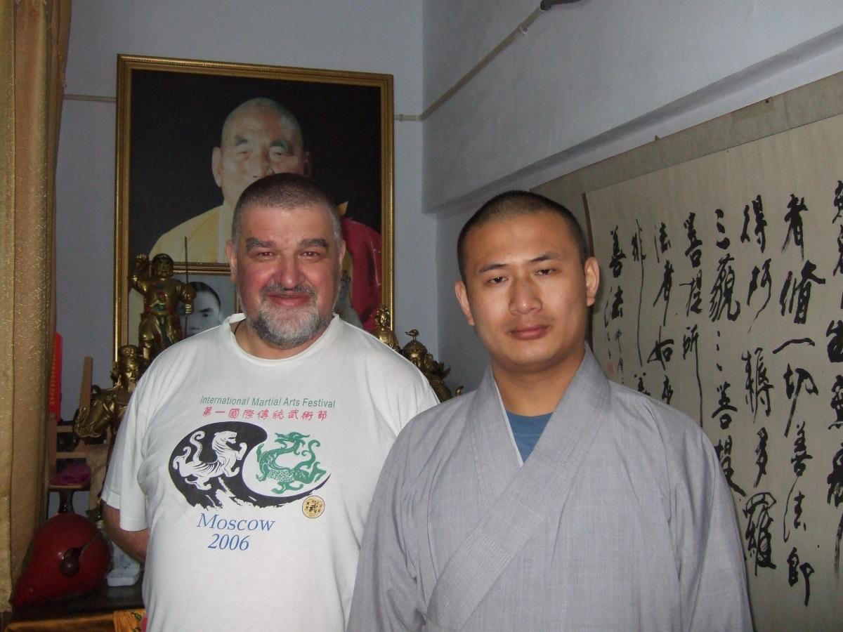 Монастырь Шаолинь, шисюнди Ши Синчунь и Ши Синсинь